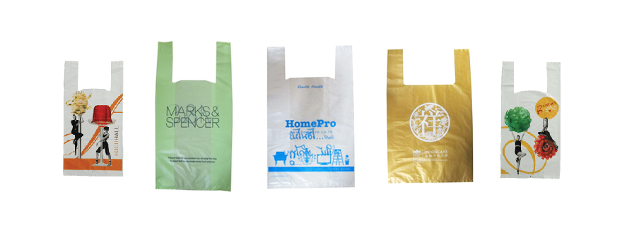 Double Hanging Plastic Bags